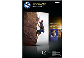 HP Advanced glättat fotopapper 250 g/m² 10x15 cm