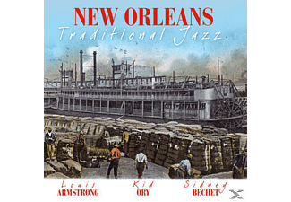 VARIOUS - New Orleans - Traditional Jazz - (CD)