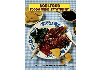 VARIOUS - Soulfood - Food & Music, Fat & Yummy - (CD + Buch)