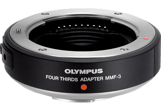 OLYMPUS MMF-3 Four Thirds Adapter, MFT-Objektive, Schwarz