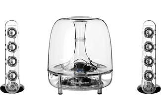 HARMAN KARDON SoundSticks Wireless, Dockingstation, Transparent