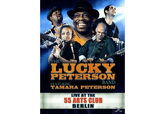 The Lucky Peterson Band, Peterson Tamara - Live At The 55 Arts Club Berlin [CD + DVD Video]