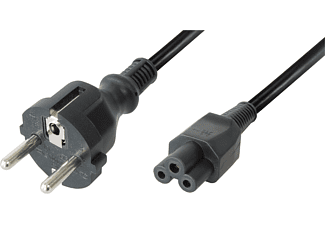 BELKIN LAPTOP EURO POWER CORD WITH C5 CONNECTOR 1.8M