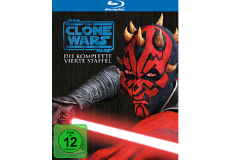 Star Wars: The Clone Wars - Die komplette 4. Staffel - (Blu-ray)
