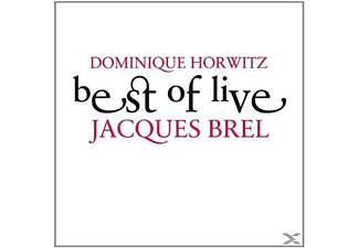 Dominique Horwitz - Best Of Live - Jacques Brel - (CD)