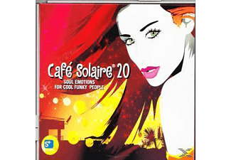 VARIOUS - Cafe Solaire 20 - (CD)
