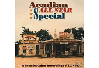 Willie Nelson - Acadian All Star Special The Pioneering Cajun Rec - (CD)
