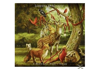 Loreena McKennitt - A MIDWINTER NIGHT S DREAM - (CD)