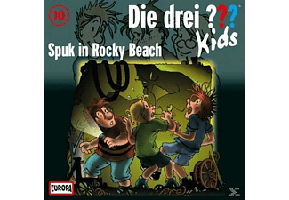 Die drei ??? Kids 10: Spuk in Rocky Beach - (CD)
