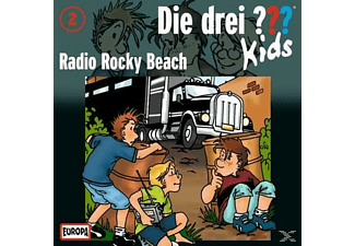 Die Drei ??? Kids 02: Radio Rocky Beach - (CD)