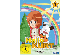 Hallo Kurt – Volume 1 (Episode 1-21) [DVD]