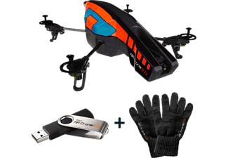 PARROT AR.Drone 2.0 orange/blau Limitierte Winter-Edition