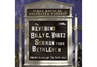 WIRTZ BILLY C. REVEREND - Sermon From Bethlehem - (CD)