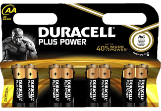 DURACELL Plus Power AA K8