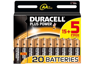 DURACELL Plus Power AA B15+5