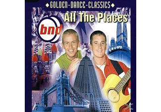 Bnd - All The Places - (Maxi Single CD)