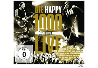 Die Happy - 1000th Show Live [CD + DVD]