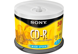 SONY 50CDQ80SP CD-R 50er Spindel CD-R