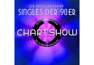 Various - DIE ULTIMATIVE CHARTSHOW-SINGLES DER 90ER - (CD)
