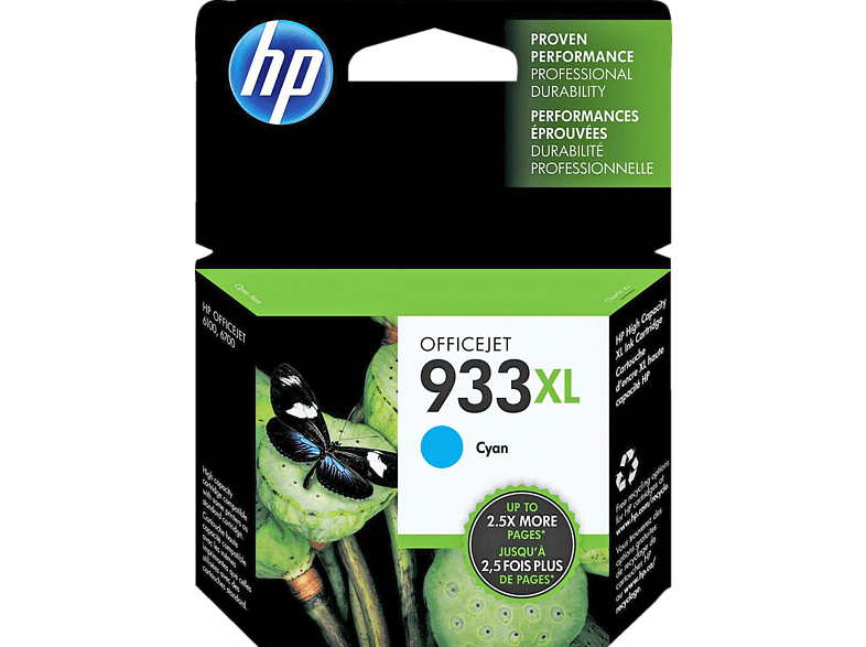 HEWLETT PACKARD 933XL Cyan - (CN054AE) laptop  tablet  computing  εκτύπωση   μελάνια μελάνια  toner computing   tablets