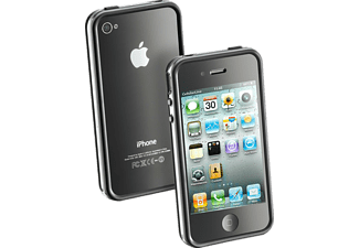 CELLULAR LINE 31094, Bumper, iPhone 4, Schwarz
