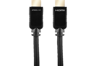 SPEEDLINK SHIELD-3 High Speed HDMI Kabel mit Ethernet, 2 m