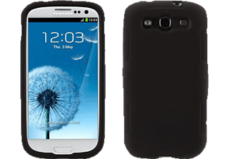 GRIFFIN GRS-GB35838, Samsung, Backcover, Galaxy S3, Polycarbonat, Schwarz