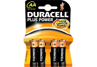 DURACELL Plus Power AA 4-pack - Batterier