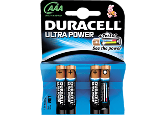 DURACELL Ultra Power AAA 4-pack - Batterier