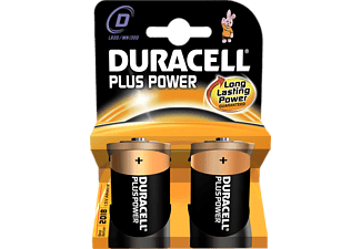 DURACELL Plus Power D 2-pack - Batterier
