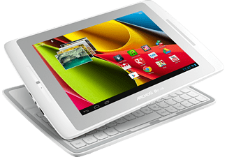 ARCHOS XS Tablet mit 8 Zoll Coverboard mit 8 Zoll, 8 GB Speicher, Android 4.1, Weiß