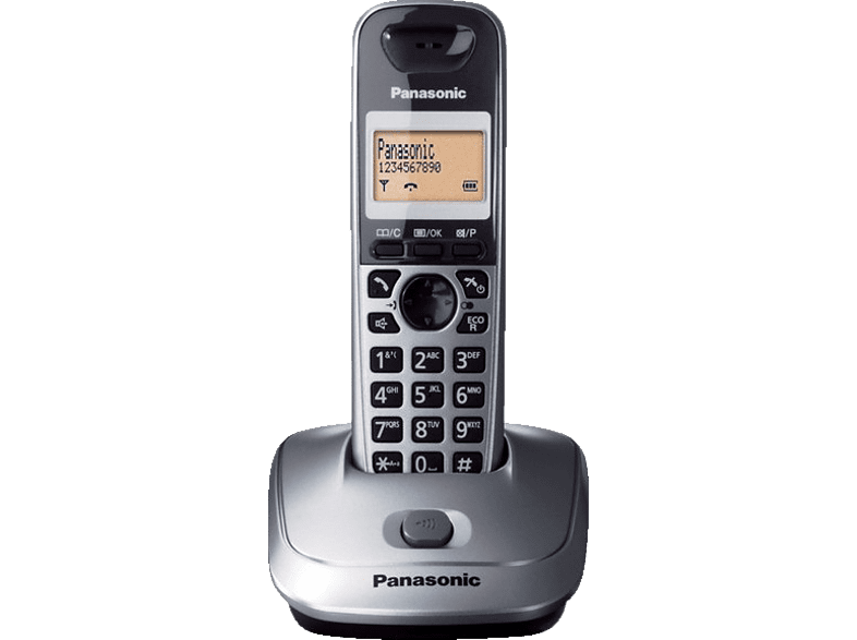 PANASONIC KX-TG2511GR Steel Grey τηλεφωνία   πλοήγηση   offline σταθερά τηλέφωνα ασύρματα τηλέφωνα βιβλία για το