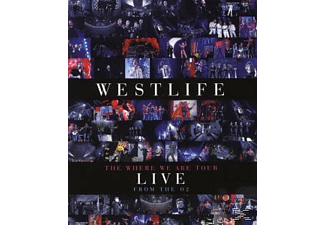 Westlife - THE WHERE WE ARE TOUR - LIVE AT THE O2 [Blu-ray]