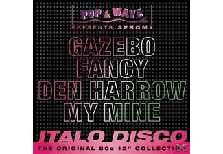 VARIOUS - 3from1 Pop & Wave Vol.2-Italo Disco - (CD)