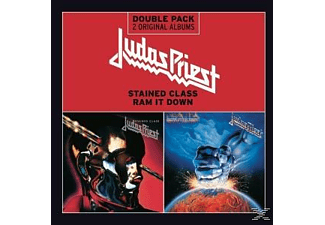 Judas Priest - STAINED CLASS/RAM IT DOWN [CD]