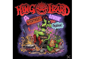 King Lizard - A Nightmare Livin' The Dream - (CD)