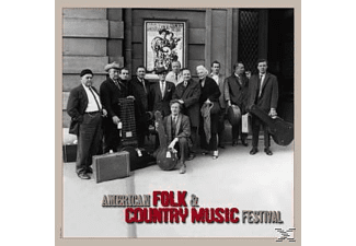 Various - American Folk & Country Festival - (CD + Buch)