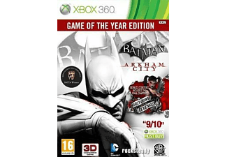 Batman: Arkham City Game Of The Year Xbox 360