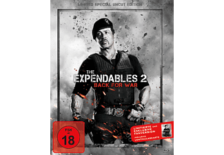 The Expendables 2: Back For War - Limited Special Uncut Edition Action Blu-ray