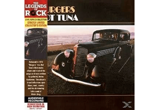 Hot Tuna - Burgers - LTD Vinyl Replica - (CD)