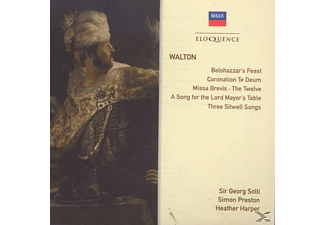 Sir Georg Solti, The Choir Of Christ Church Cathedral, Preston Simon - Belshazzar S Feast/ Choral Works/ Song - (CD)