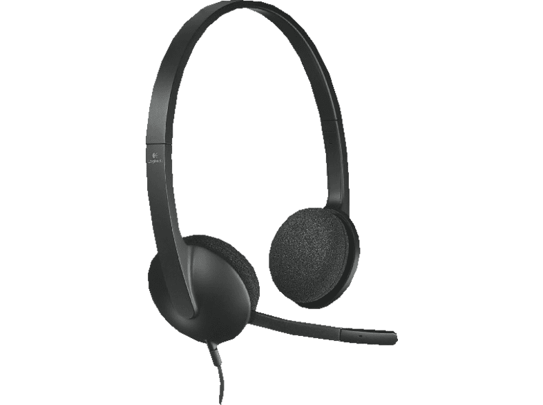 LOGITECH HEADSET H340 STEREO LOGITECH 981-000475 computing   tablets   offline ηχεία  headsets  webcams headsets laptop  tablet