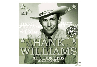 Hank Williams - All The Hits And More-The Legend - (Vinyl)
