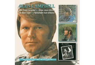 Glen Campbell - Glen Travis Campbell/I Knew Jesus(Before He Was A Star)/I Rembember Hank Williams [CD]