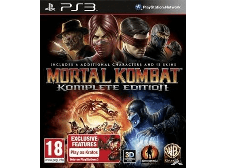 Mortal Kombat Komplete Edition PlayStation 3 gaming games ps3 games