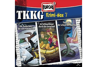 TKKG Krimi-Box 07 - (CD)