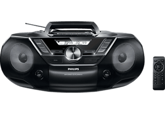 PHILIPS AZ787/12, CD-Soundmachine, Schwarz