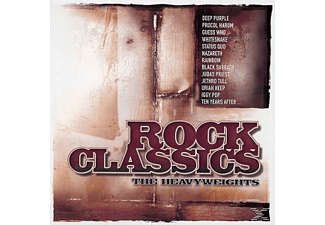 VARIOUS - Rock Classics: The Heavyweights [CD]