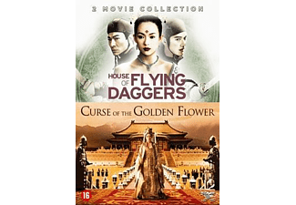 CURSE OF GOLDEN FLOWER + HOUSE OF FLYING DAGGERS 2 |