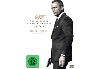 007 - Daniel Craig Collection Action DVD